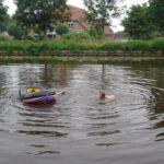 zwemmen bij vakantie huis in overijssel